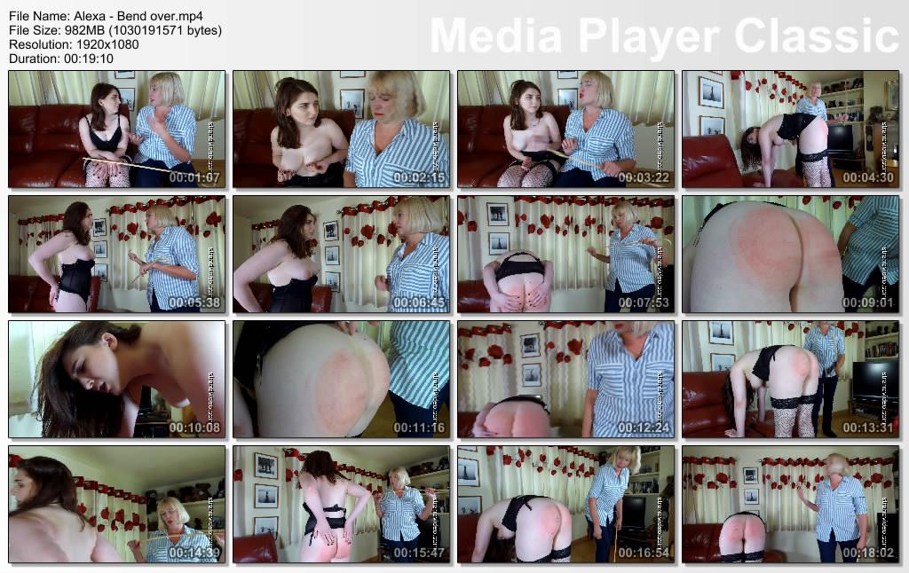 thumbs20191128171907 - Spanking Sarah – MP4/Full HD – Alexa, Sarah Stern - Bend over