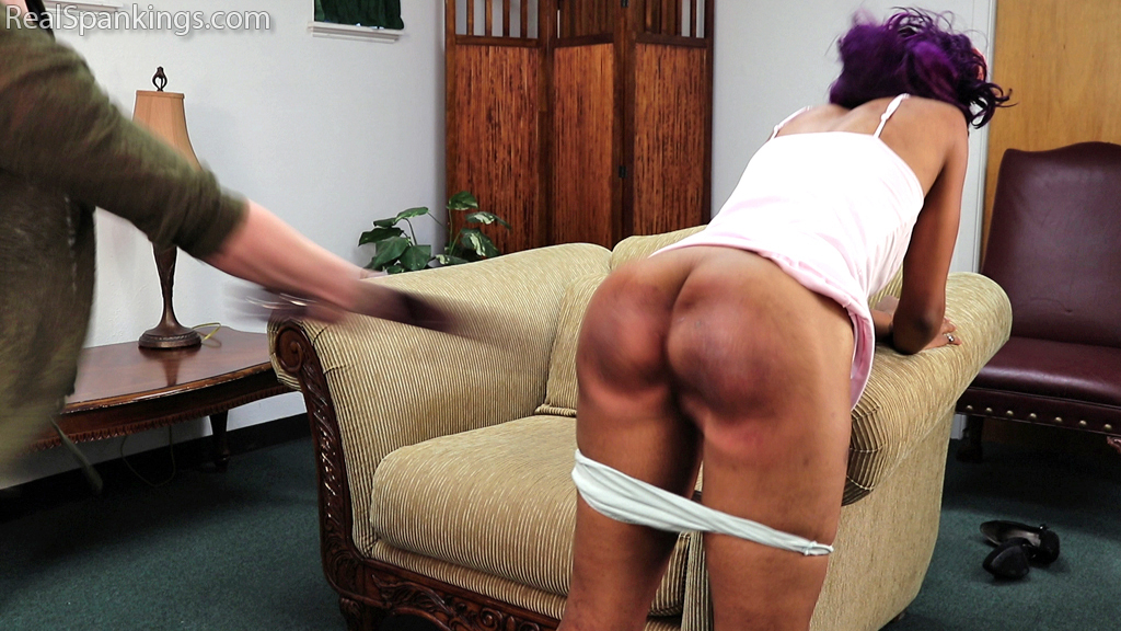 Real Spankings – MP4/Full HD – A Double Dose with the Belt (Part 2 of 2) | December 04, 2019