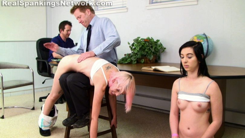 15882 005 810x456 - OTK Spankings – RM/HD – Roxie and Autumn: Spanked by Danny (Part 1) | December 04, 2019