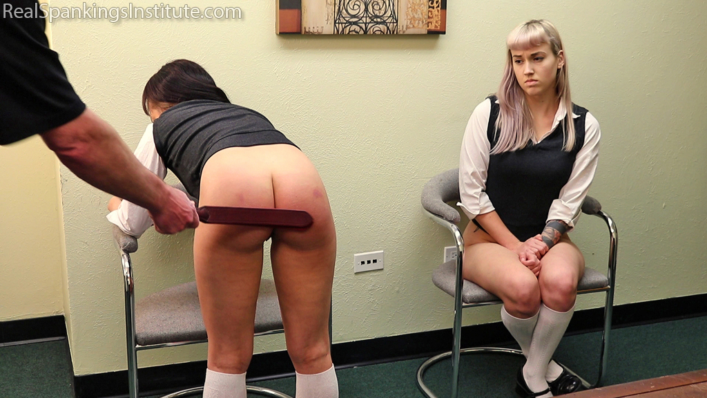 Real Spankings Institute – MP4/Full HD – Spanked Together (Part 4 of 4) | Fri Dec 13, 2019