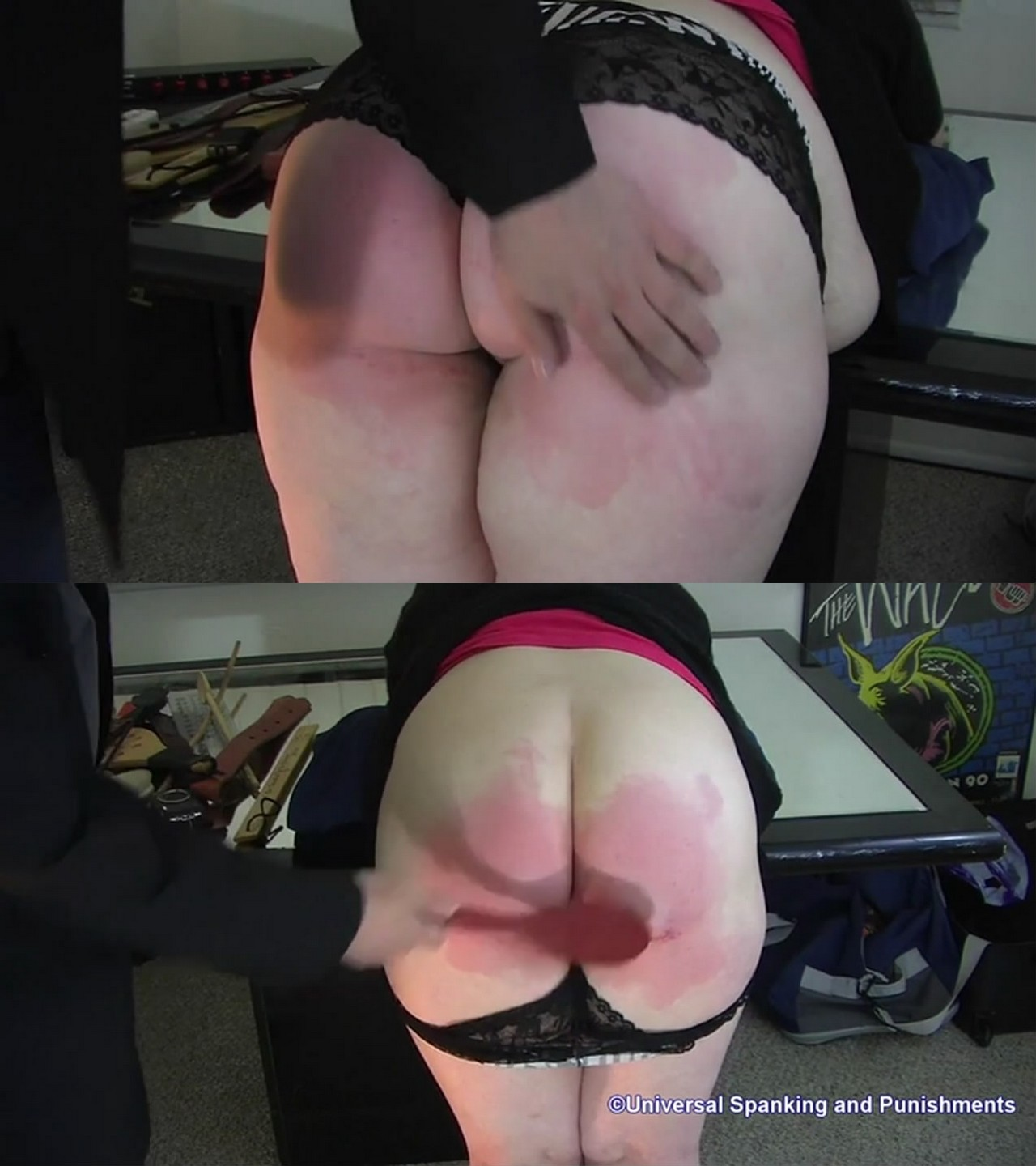 Universal Spanking and Punishments – MP4/HD – Hard Licks in the Puishment Room #3