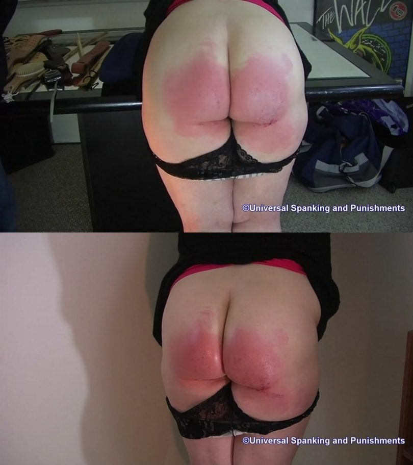 2019 12 04 134559 810x911 - Universal Spanking and Punishments – MP4/HD – Hard Licks in the Puishment Room #2
