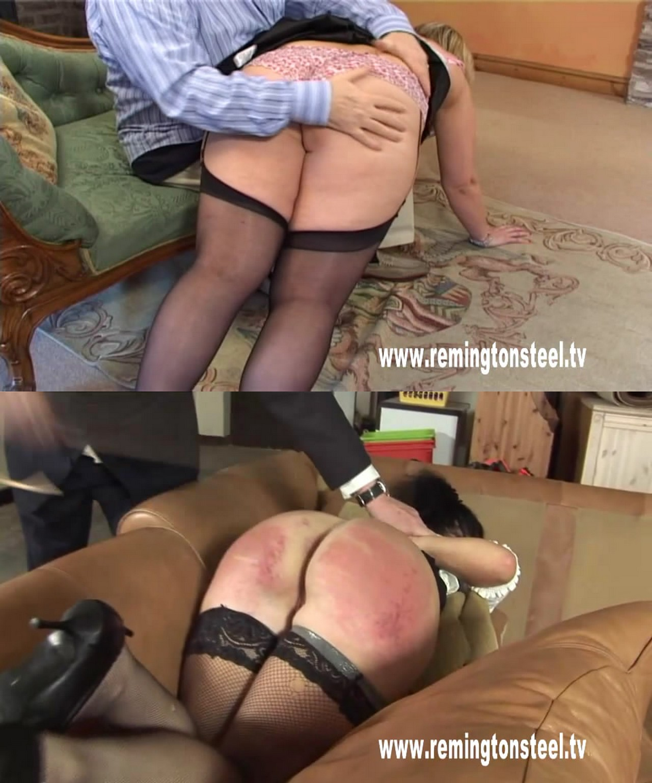 MP4/SD – Spanking double bill