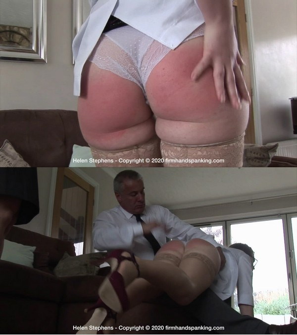 Firm Hand Spanking – MP4/HD – Helen Stephens – Spa Rules – B/Having her bare bottom spanked in not what Helen Stephens expects at work!
