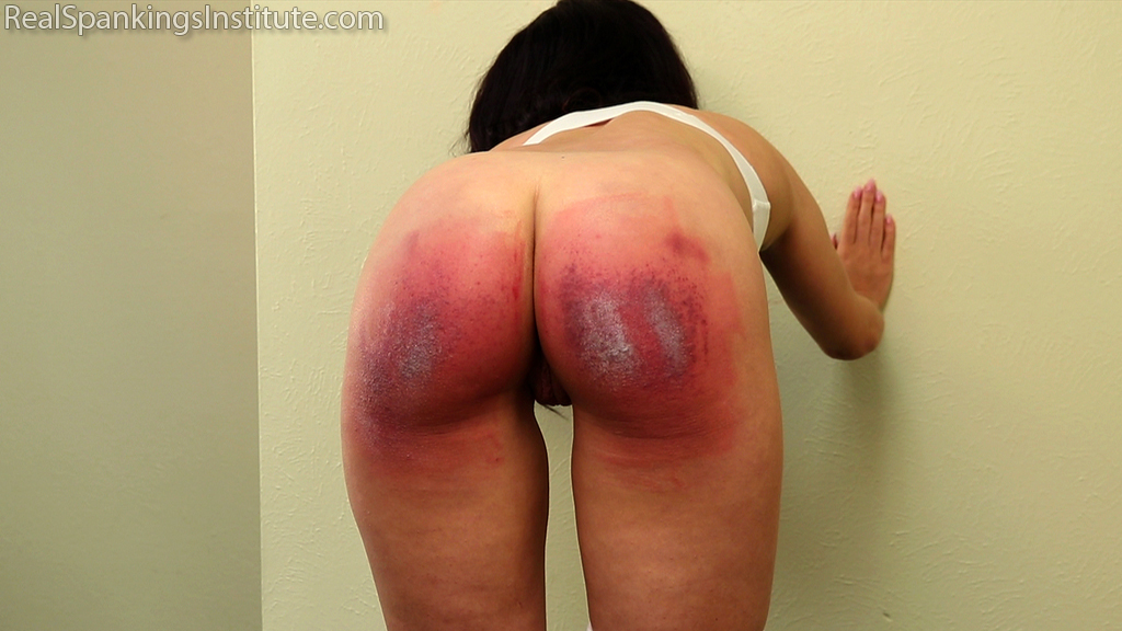 Real Spankings Institute – MP4/Full HD – Kiki: Rough Day with the Dean (Part 2)