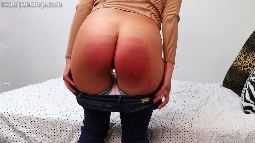 Real Spankings – MP4/Full HD – A Proper Whoopin' for Disrespectful Behavior (Part 1)