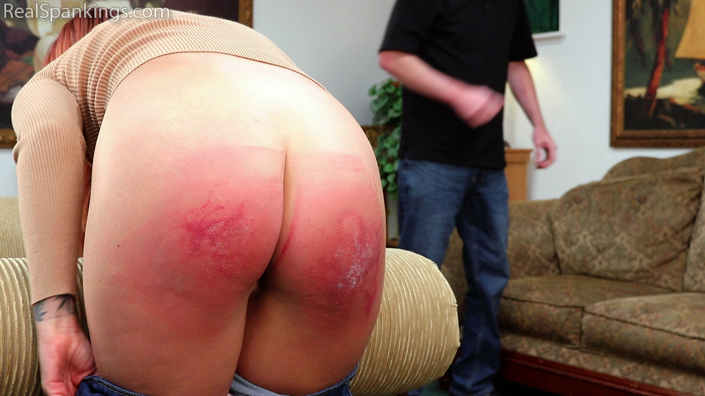Real Spankings – MP4/Full HD – A Proper Whoopin' for Disrespectful Behavior (Part 2)