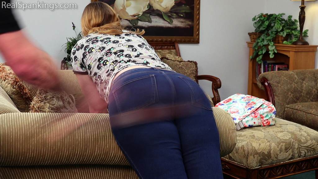 Real Spankings – MP4/Full HD – Alex Spanked with the Belt (part 1 of 2)