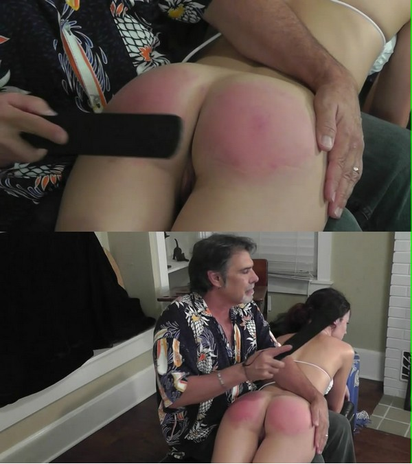 Disciplinary Arts – MP4/SD – Hailey 7 – No Helmet Spanking