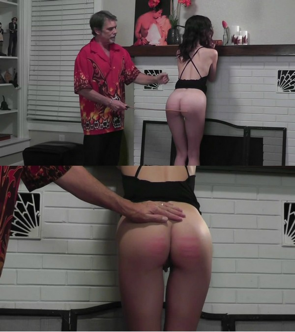 Dallas Spanks Hard – MP4/SD –Hailey Triple Play 1 – First Caning