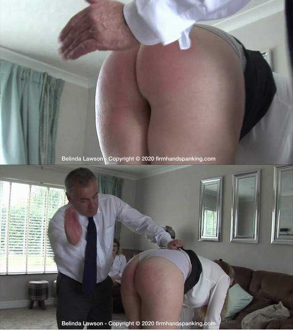 Firm Hand Spanking – MP4/HD – Belinda Lawson – Spa Rules – E/Belinda's bottom breaks the ping pong paddle but that doesn't stop her spanking!
