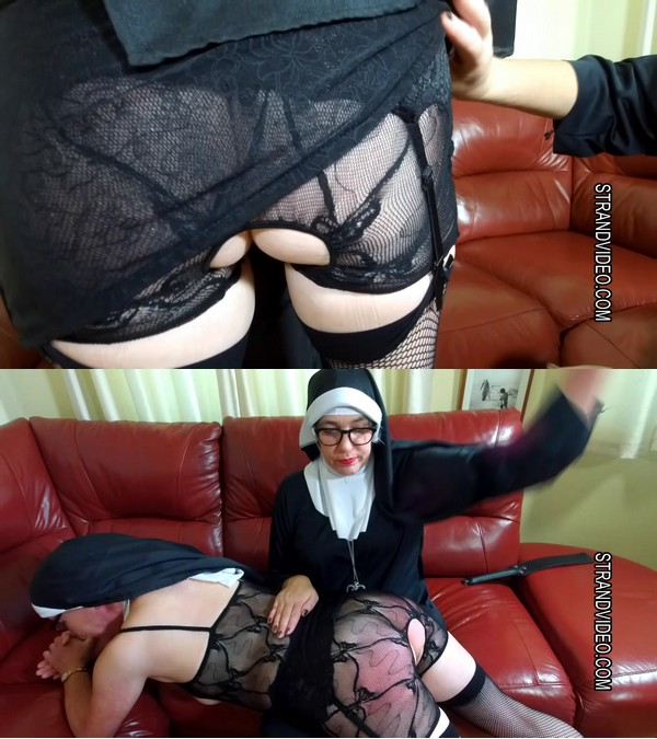 2020 02 12 145929 - Spanking Sarah – MP4/Full HD – Sarah Stern, Suzanne Smart - Nun Punished for Duplicity