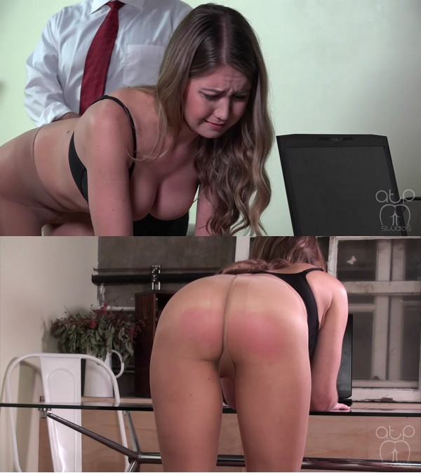 Assume The Position Studios – MP4/HD – The Master, Chrissy Marie – Topless Pantyhose Belt Whipping – Office Blackmail – Head or Tails – 2