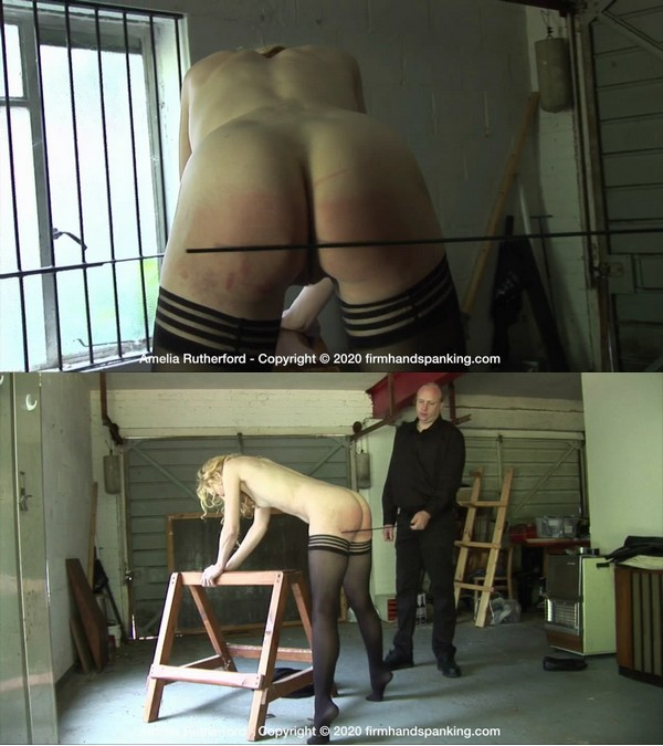 Firm Hand Spanking – MP4/HD – Amelia Rutherford – The Facility – G/Naked caning for Amelia Rutherford as she submits at The Facility