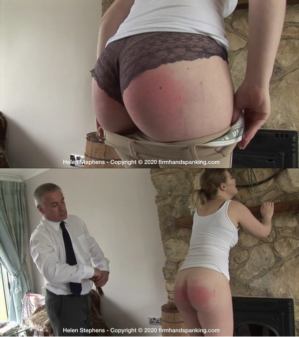 Firm Hand Spanking – MP4/HD – Helen Stephens – Spa Rules – F/Missed appointments cost doe-eyed beauty Helen Stephens double discipline
