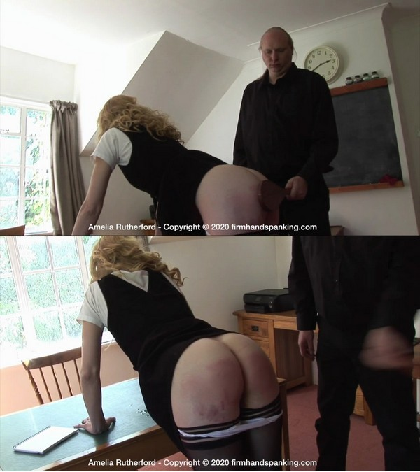 Firm Hand Spanking – MP4/HD – Amelia Rutherford – The Facility – H/Humiliating experience for Amelia Rutherford as she submits to a wooden paddle