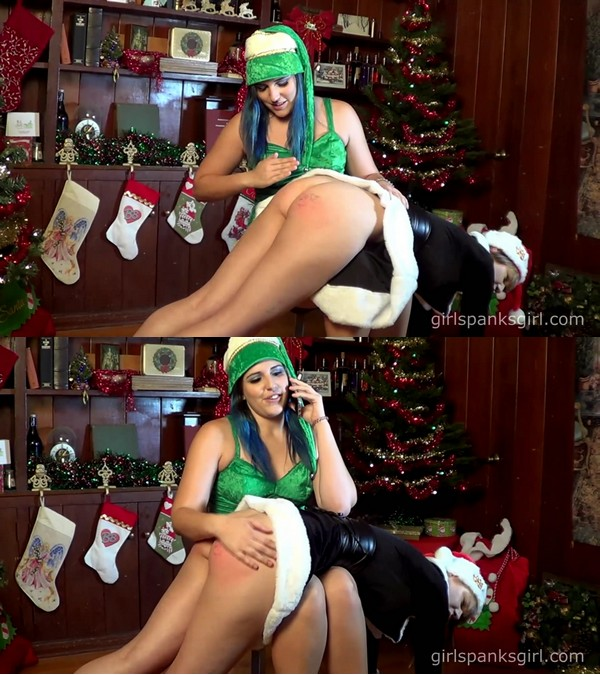 Girl Spanks Girl – MP4/Full HD – Sailor Luna – Evil Elf is Spanked