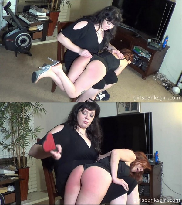 Girl Spanks Girl – MP4/Full HD – Mistress Gloria – Paying For the Crime Part 2