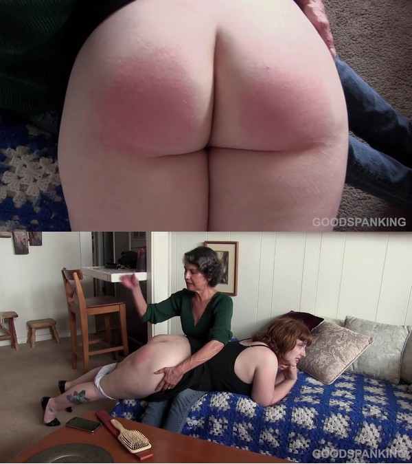 Good Spanking – MP4/Full HD – Chelsea Pfeiffer, Ginger Sparks – A Strange Kind Of Thank You – Part One