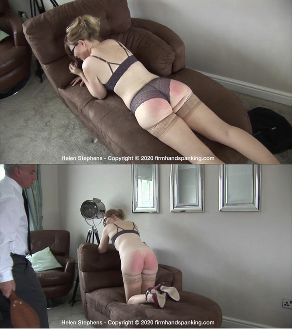Firm Hand Spanking – MP4/HD – Helen Stephens – Spa Rules – L/Helen Stephens pays with a spanking for losing important American clients | Mar 23, 2020