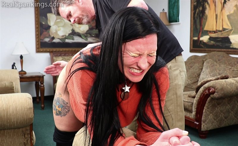 Real Spankings – MP4/Full HD – Lilith – Lilith's Bare Bottom Hand Spanking