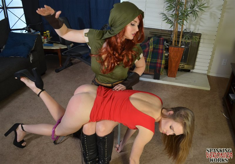 Spanking Veronica Works – MP4/Full HD – Veronica Ricci, Ashley Lane – Robin Hood Spanking