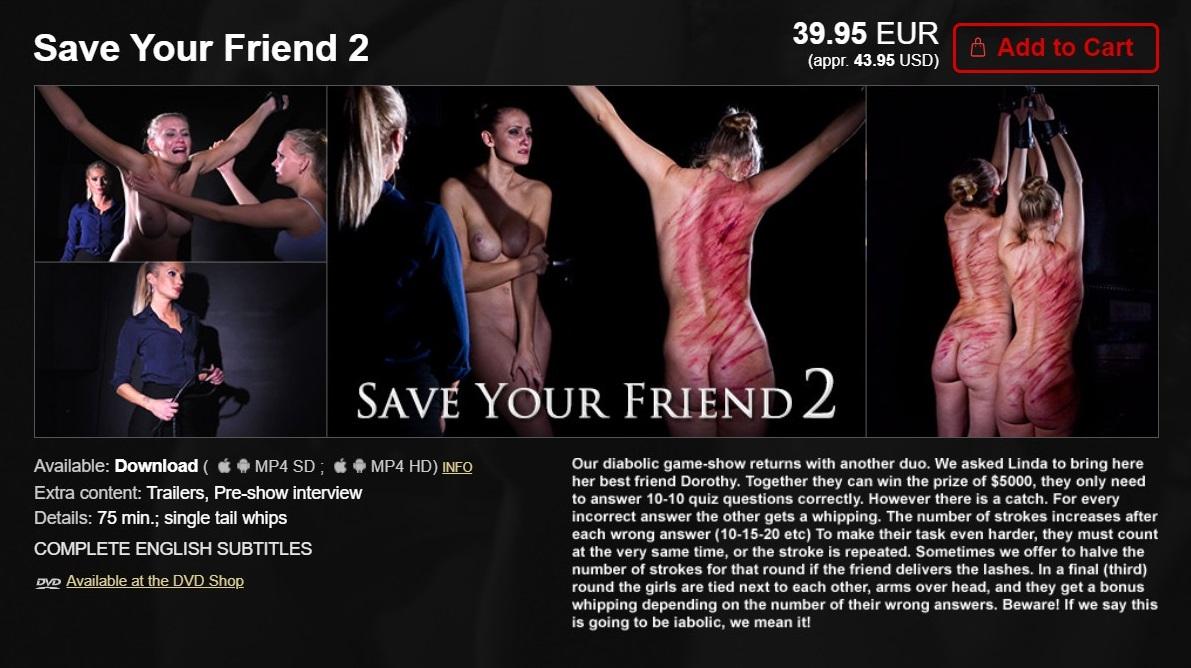 Elite Pain – MP4/HD – Save Your Friend 2