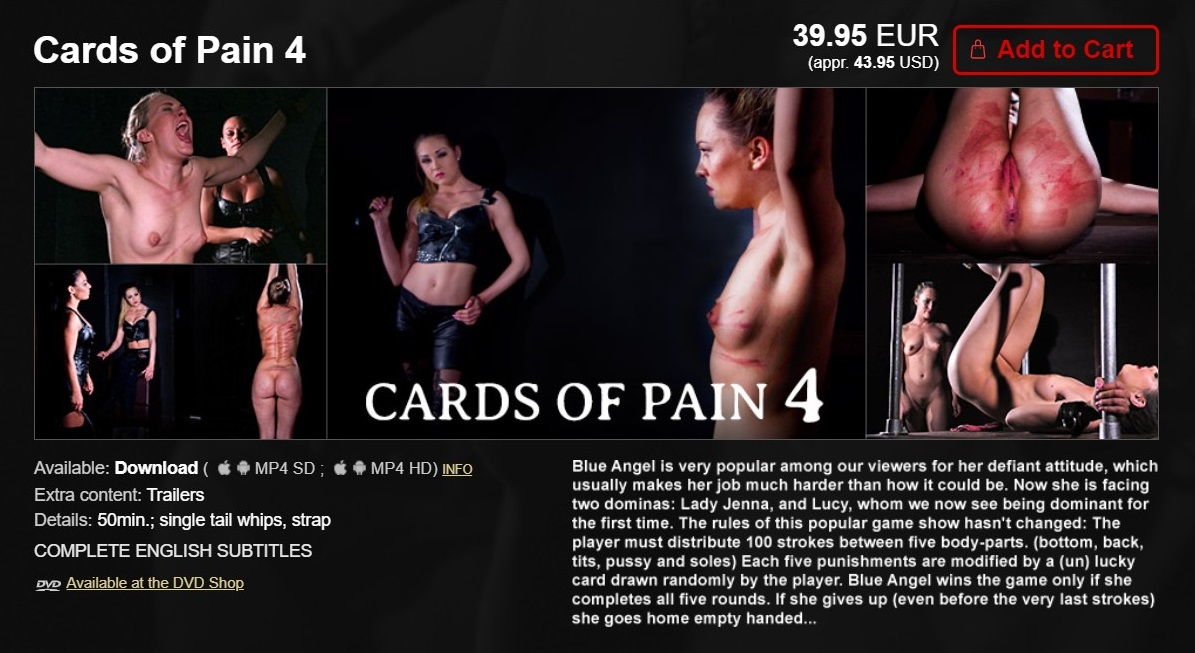 Elite Pain – MP4/HD – Cards of Pain 4