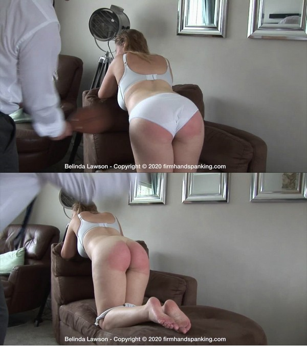 Firm Hand Spanking – MP4/HD – Belinda Lawson – Spa Rules M/Spanked without cause Belinda Lawson's jiggling bare behind soundly leathered | Mar 30, 2020
