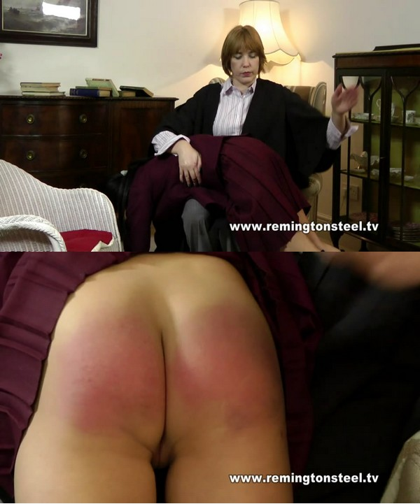 English Spankers – MP4/SD – Paradise  In Regulation Uniform