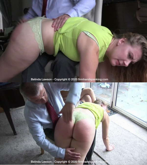 Firm Hand Spanking – MP4/HD – Belinda Lawson – Spa Rules – O/Classic booty bouncing bare-cheeked spanking over the knee for Belinda Lawson! | Apr 13, 2020
