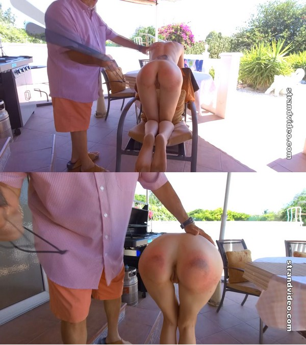 English Spankers – MP4/Full HD – Meg, Mr. Stern – The Spanking Cook Book The Bbq