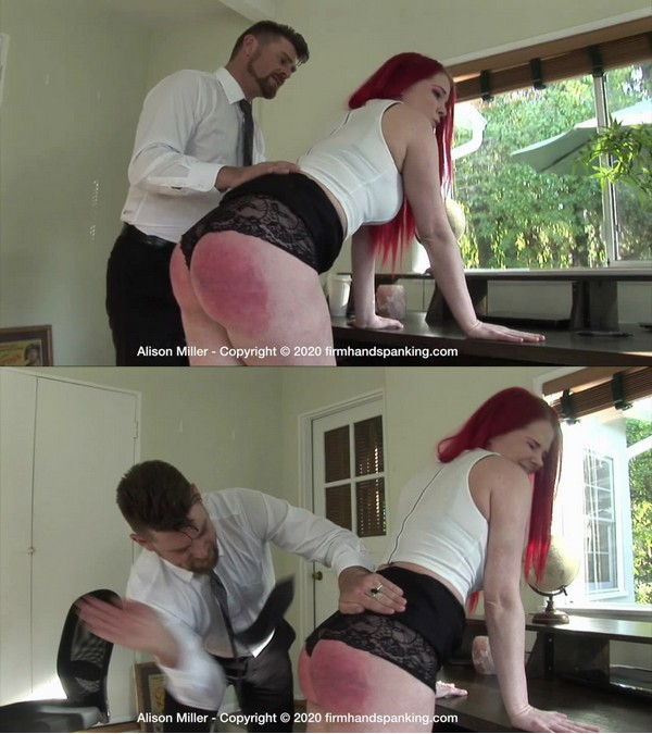 Firm Hand Spanking – MP4/HD – Alison Miller – Year-old – A/We're Delighted that Alison Miller is Rear, with her Glorious Butt spanked (Release date: Apr 20, 2020)