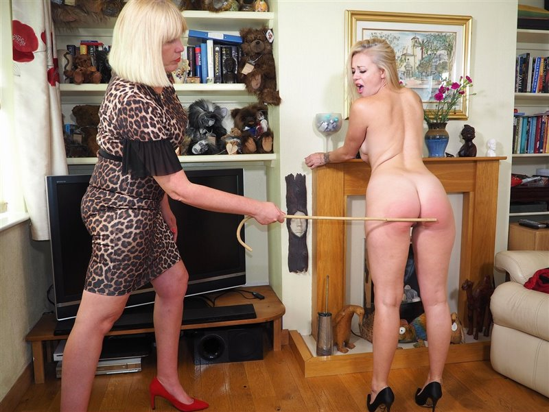 English Spankers – MP4/Full HD – Lucy Lauren, Sarah Stern – One More Stroke Of My Cane