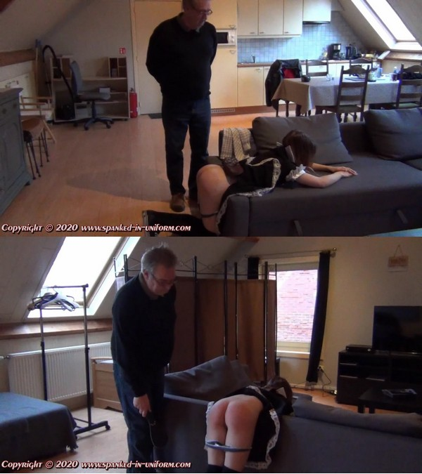 Spanked In Uniform – MP4/Full HD – Lina – The Sexy Maid Cleaning Agency – The Seat Of Learning Part 3 – Episode 34