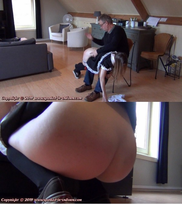 Spanked In Uniform – MP4/HD – LiNa – The Attractive Maid Cleansing Company – The Seat Of Finding out Aspect 1 – Episode 34