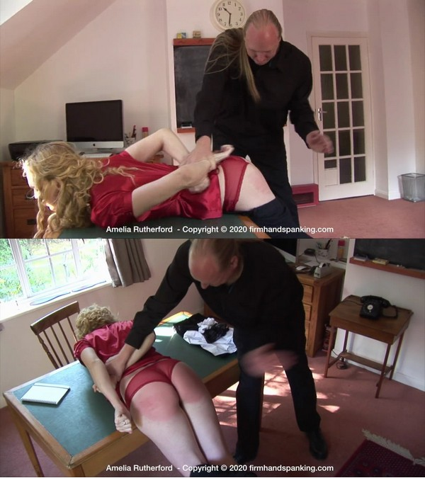 Firm Hand Spanking – MP4/HD – Amelia Rutherford – The Facility – A/Amelia Rutherford is Rear Using a Allnew Set of spanking Experiences