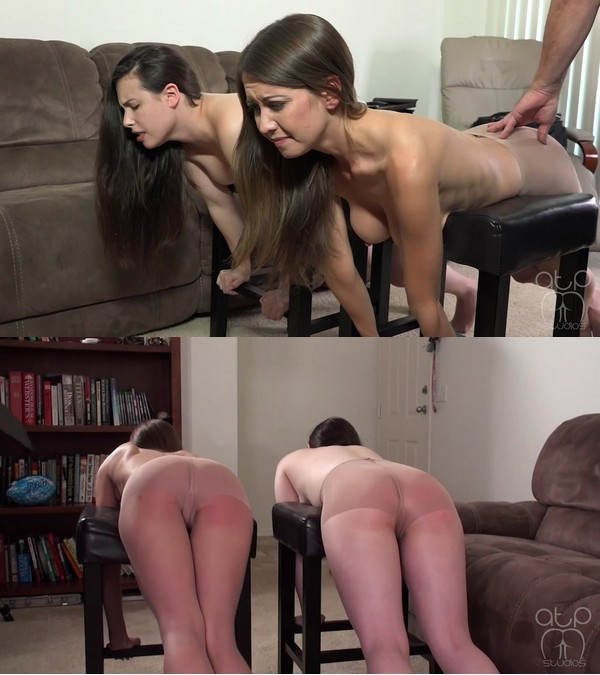 Assume The Position Studios – MP4/HD – Chrissy Marie, Casey Calvert, The Master – The Unbearable Sting Of Topless Panty Hose Strapping – Casey Calvert And Chrissy Marie