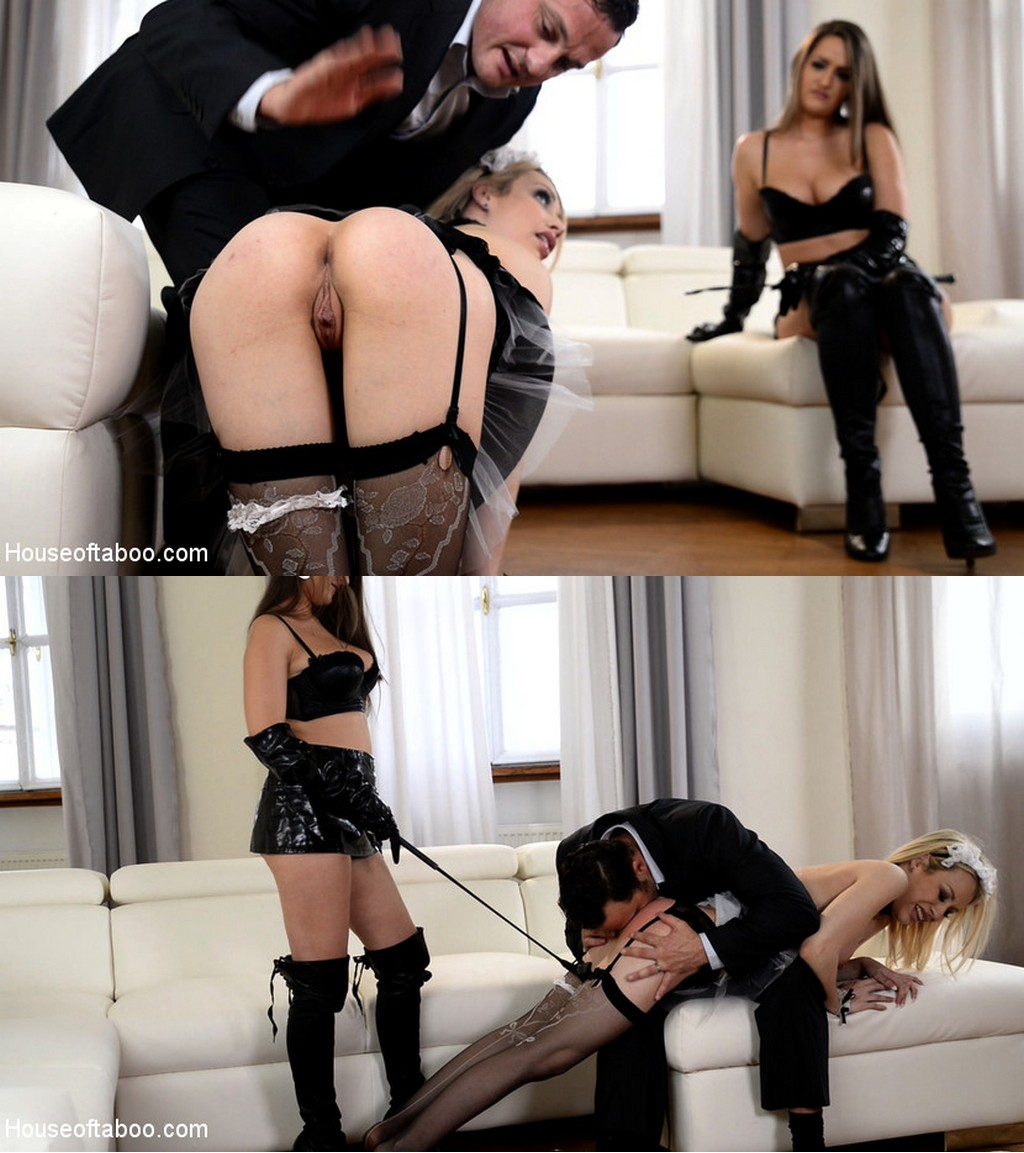 House of Taboo – MP4/HD – Kendra Star, Chessie Kay, Seth – Spanking and Banging, Part 1