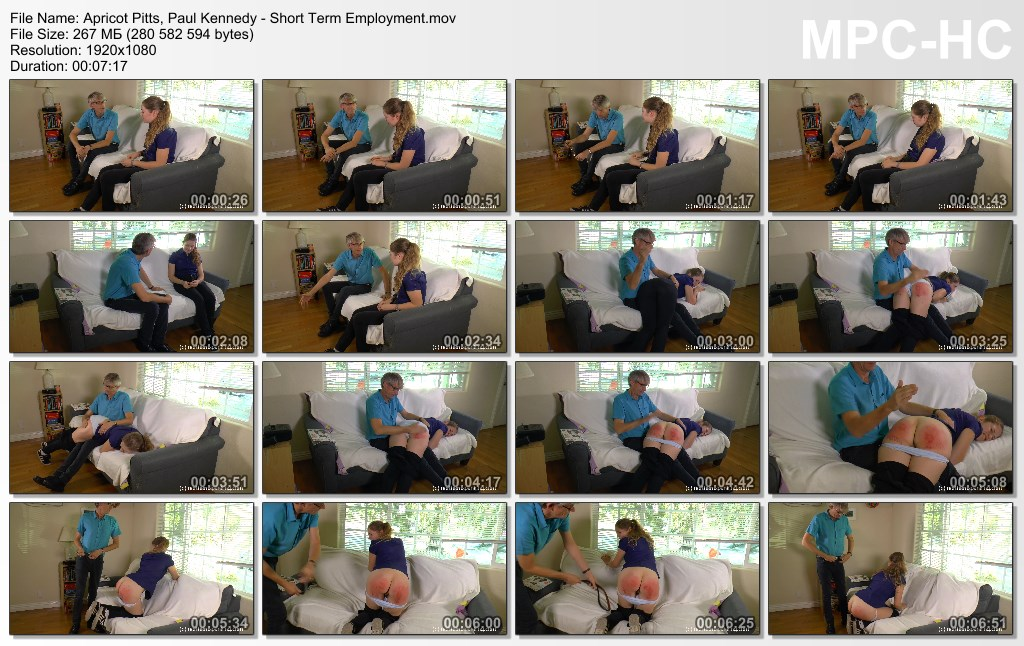 Apricot Pitts Paul Kennedy Short Term Employment.mov thumbs 2020.05.17 12.46.25 - Northern Spanking – MP4/Full HD – Apricot Pitts, Paul Kennedy - Shortterm Employment