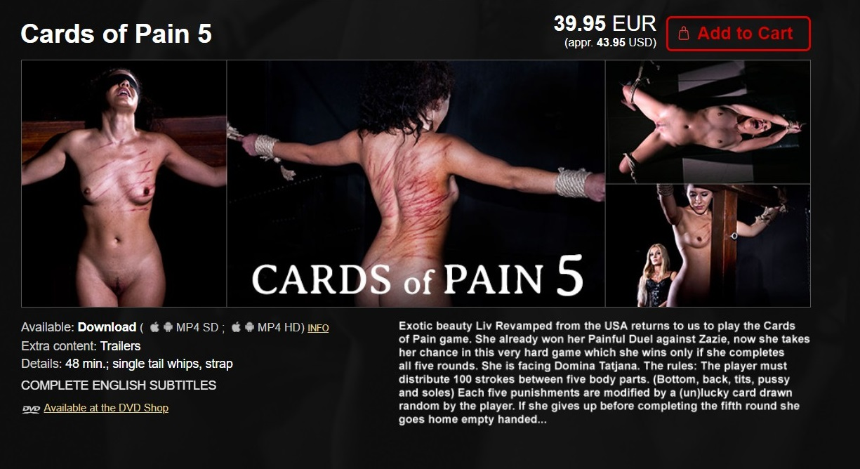 Elite Pain – MP4/HD – Cards of Pain 5