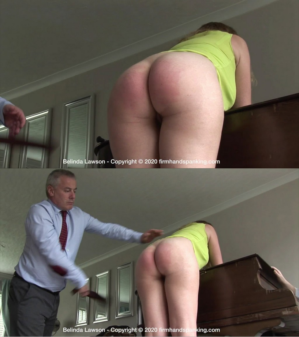 Firm Hand Spanking – MP4/HD – Belinda Lawson – Spa Rules – S/First the riding crop, now a leather strap Belinda Lawson won't fake invoices!  (Release date: Jun 4, 2020)
