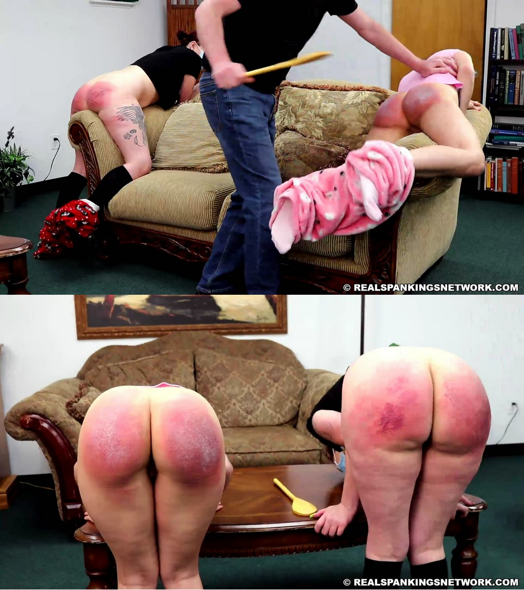 Real Spankings – MP4/Full HD – Anastasia, Kiki Cali – Sneaking Out Throughout Quarantine (Part 4)