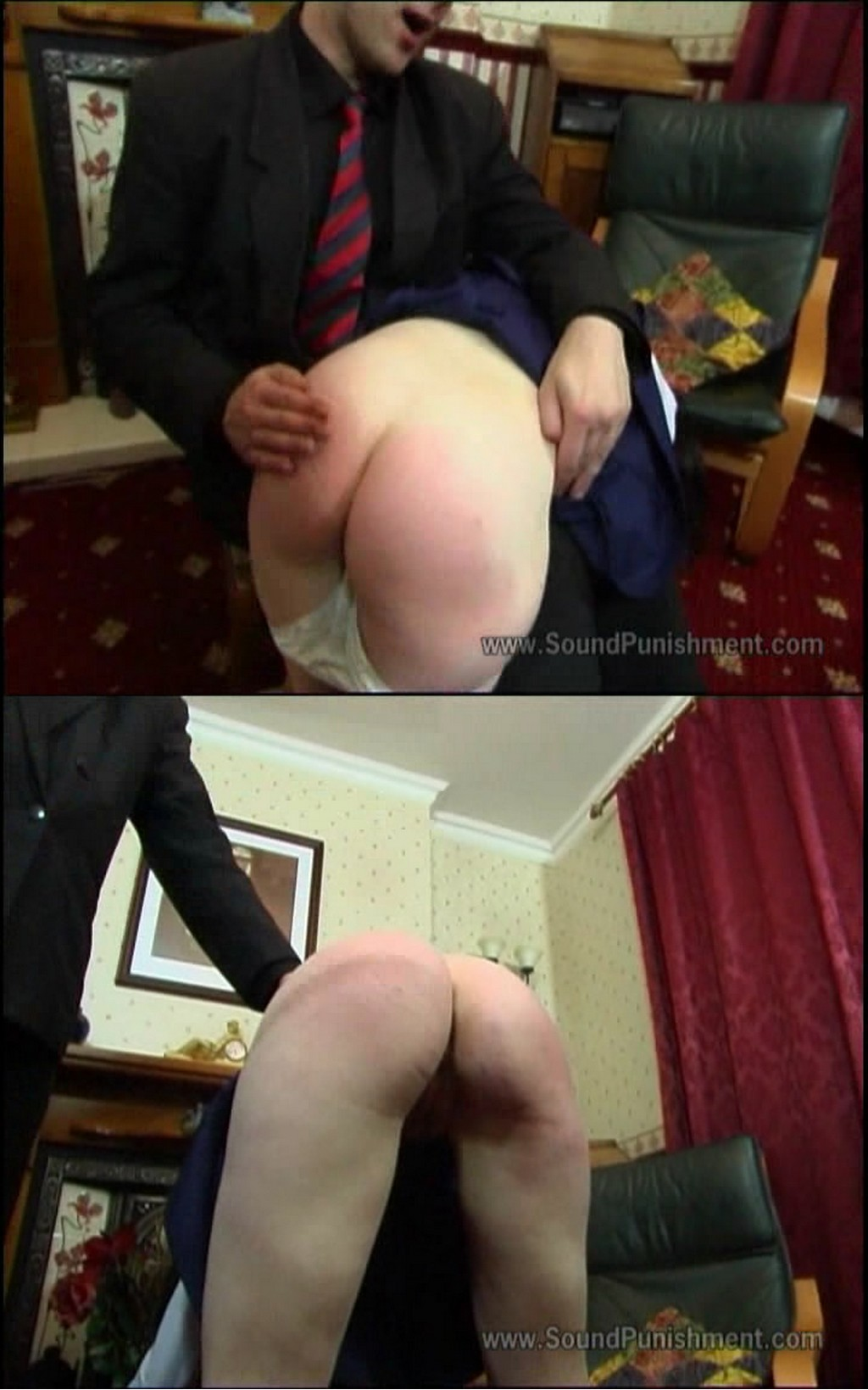 Sound Punishment – MP4/SD – Lucy Baxter – Lucy Baxter Caned For Assess