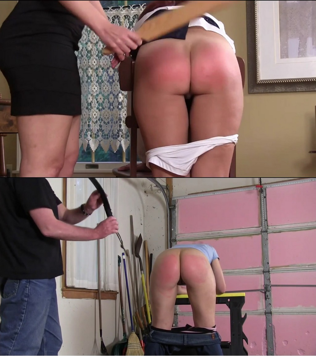 Punished Brats – MP4/Full HD – Audrey, Brittney, David Pierson – Audrey And Britney's Switching Places Full Series