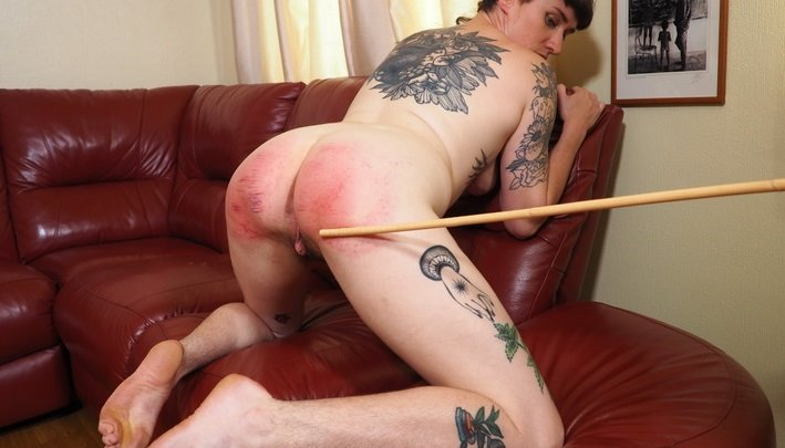 Spanking Sarah – MP4/Full HD – Ivy Bound, Sarah Stern – The Cane Will Help
