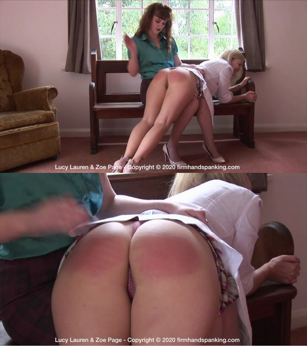 Firm Hand Spanking – MP4/HD – Lucy Lauren – Doctor's Dilemma – B/A sound bare bottom spanking sets the tone for Dr Lucy Lauren's new job (Release date: Jul 3, 2020)