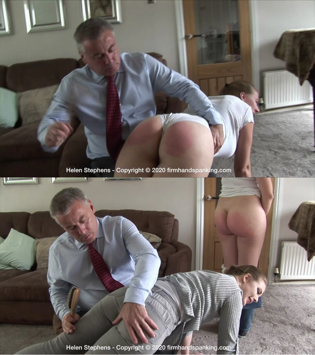 Firm Hand Spanking – MP4/HD – Helen Stephens – Spa Rules – W/No choice for Helen Stephens – it's a hairbrush spanking for fraud ! (Release date: Jun 29, 2020)