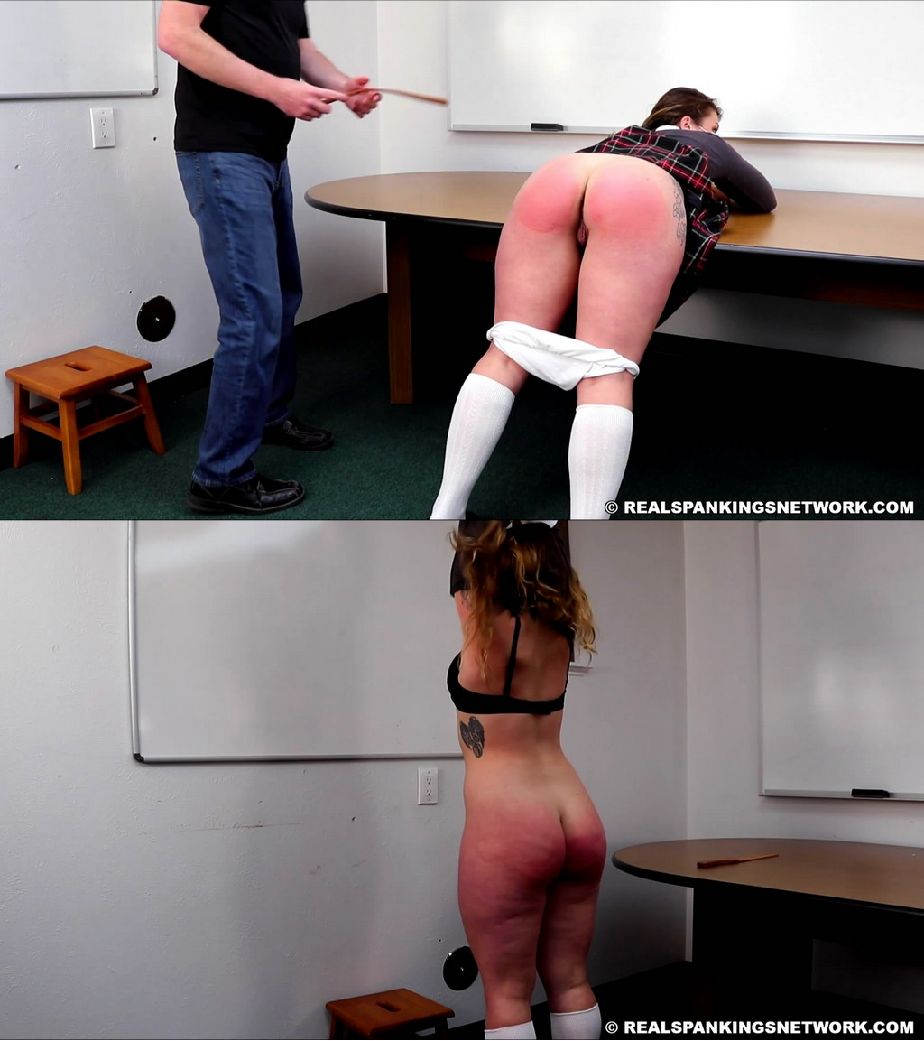 Real Spankings Institute – MP4/Full HD – Maya – Punished For Not Wearing Her Mask (part 1)