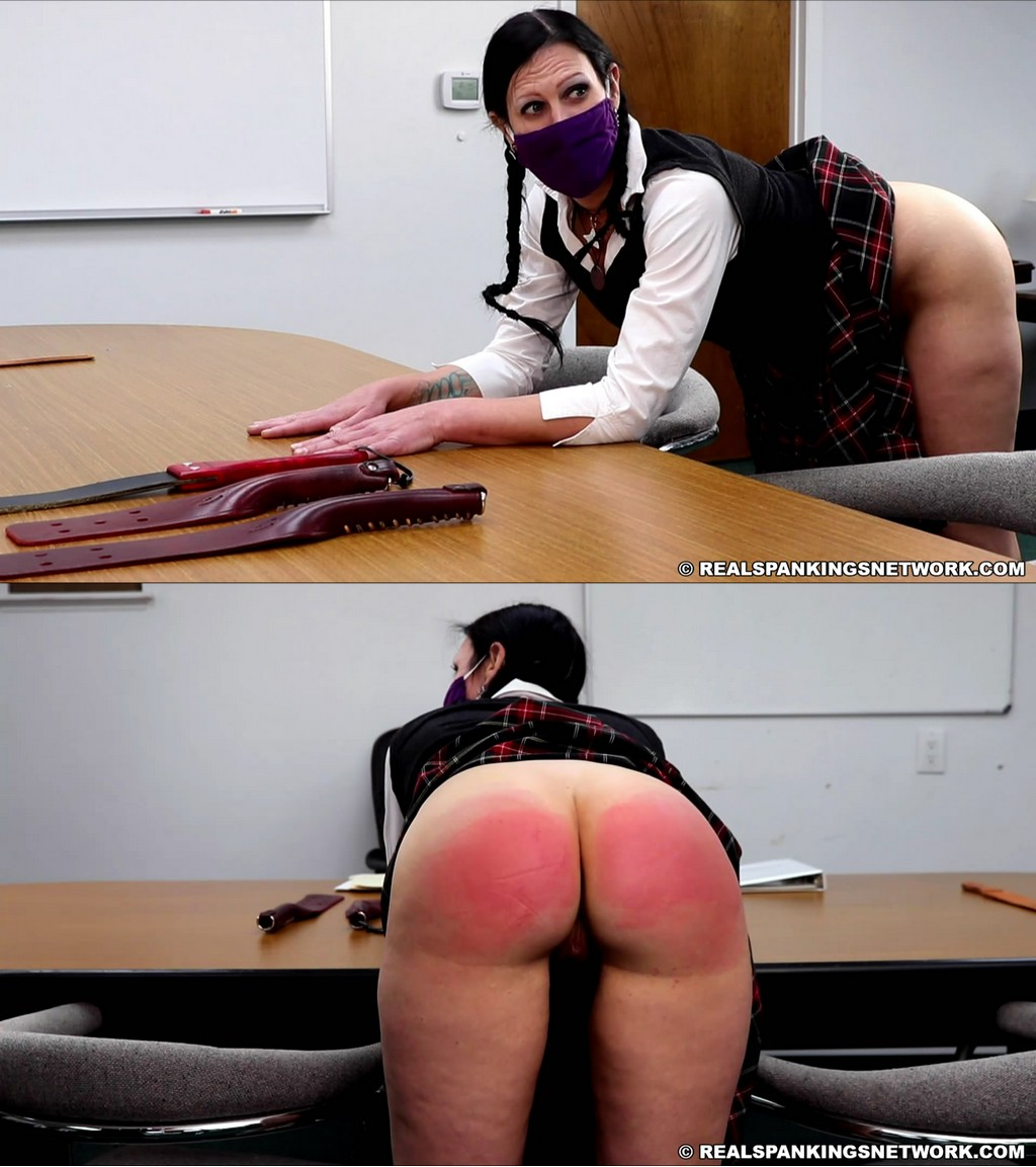 Real Spankings Institute – MP4/Full HD – Lilith – Lilith's Review With Miss Betty (Part 2 Of 2)